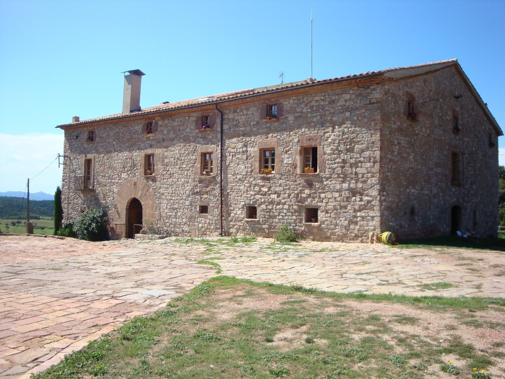 Fotos de mas el soler de terrades barcelona moia clubrural - Casas rurales bcn ...