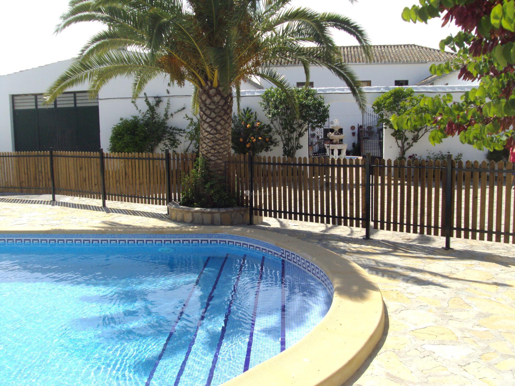 Fotos de hacienda francisco barrera c diz prado del for Barredera piscina
