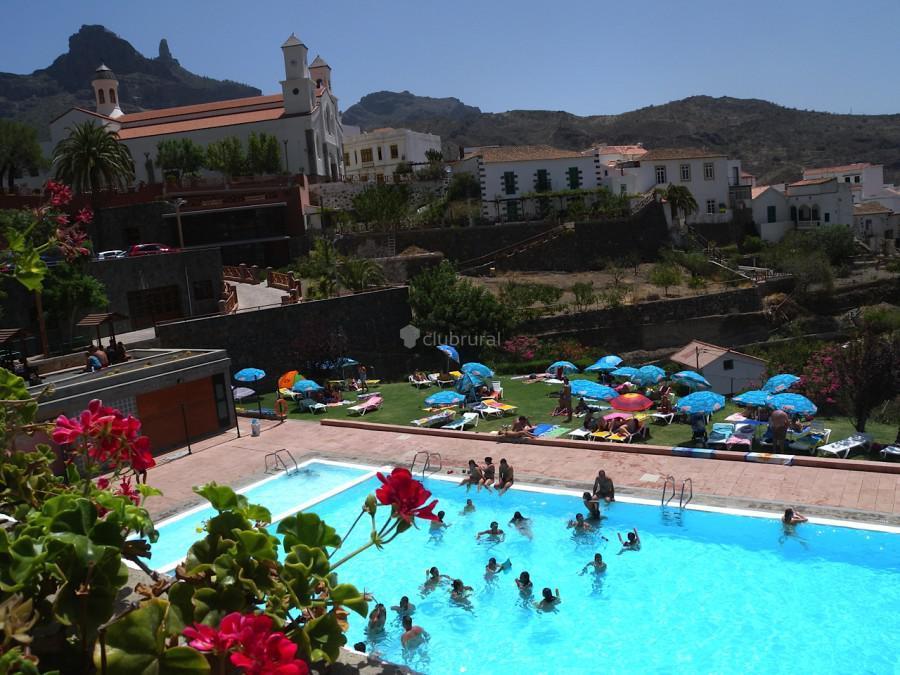 Fotos de casa bentayga gran canaria tejeda clubrural for Complejo rural con piscina