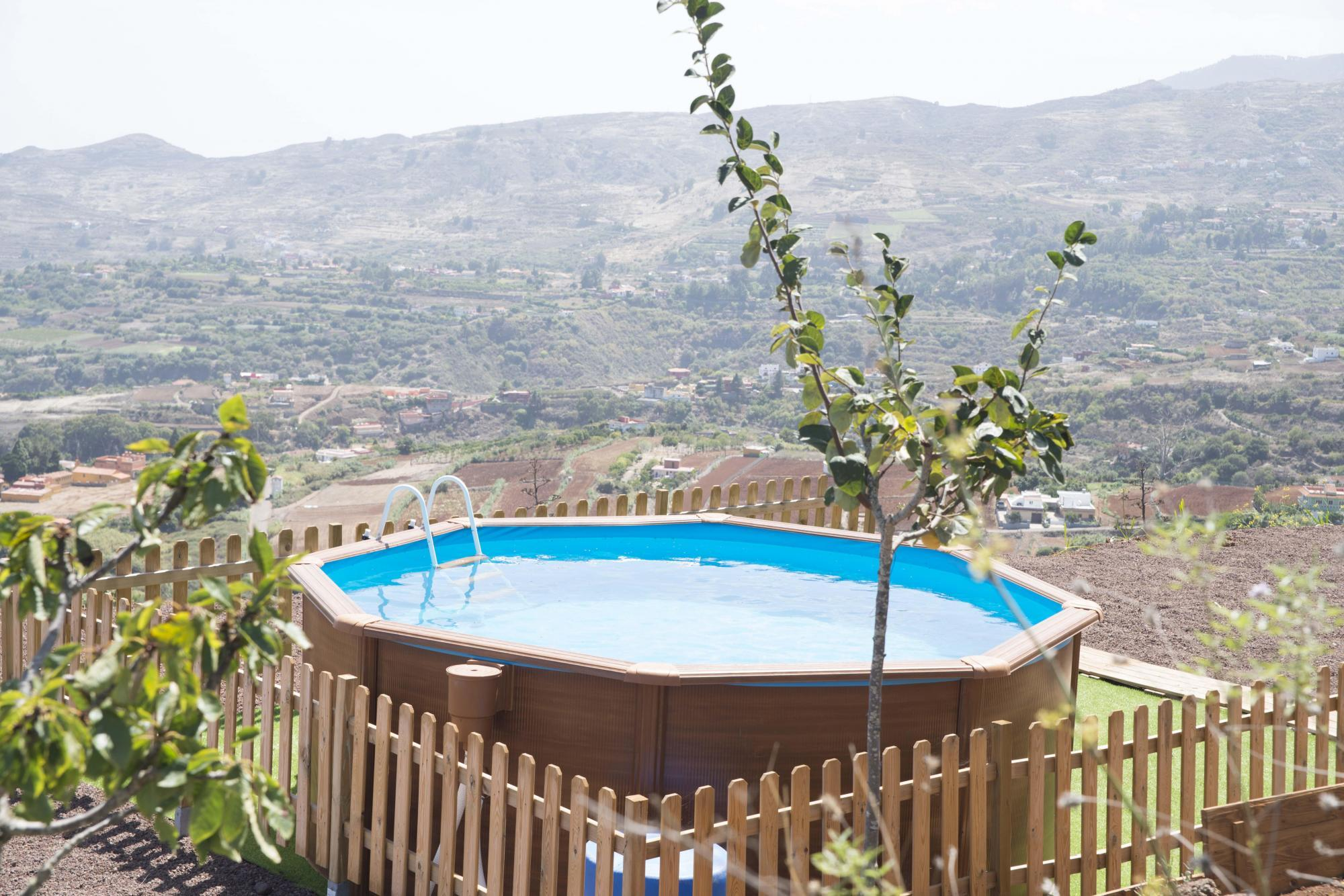 Fotos de casa rural la caldera gran canaria teror for Casa rural gran canaria piscina