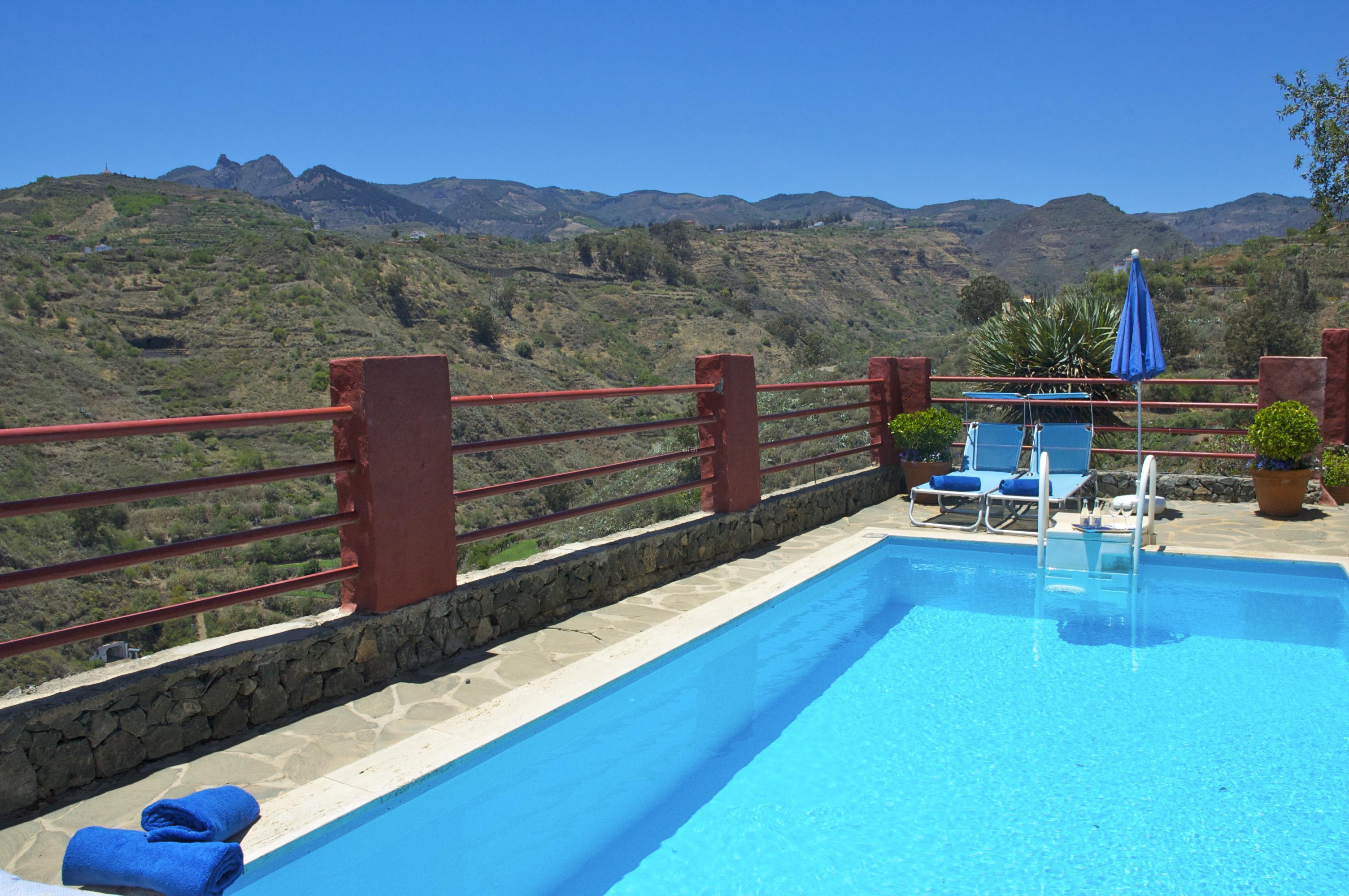 Fotos de la casa del moral gran canaria santa brigida clubrural - Villas en gran canaria con piscina ...