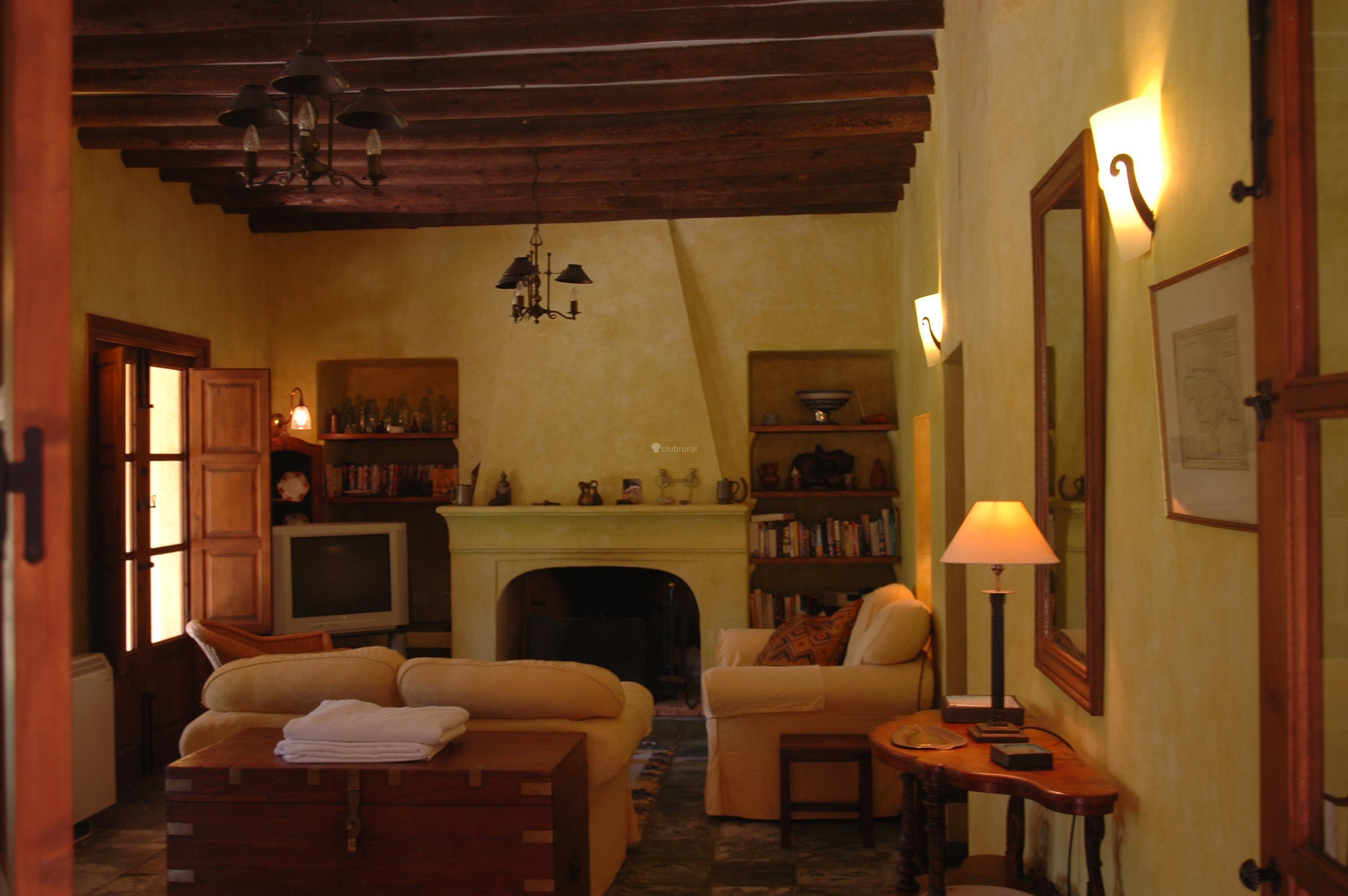 Fotos de casa larga granada el valle clubrural for Sala de estar larga