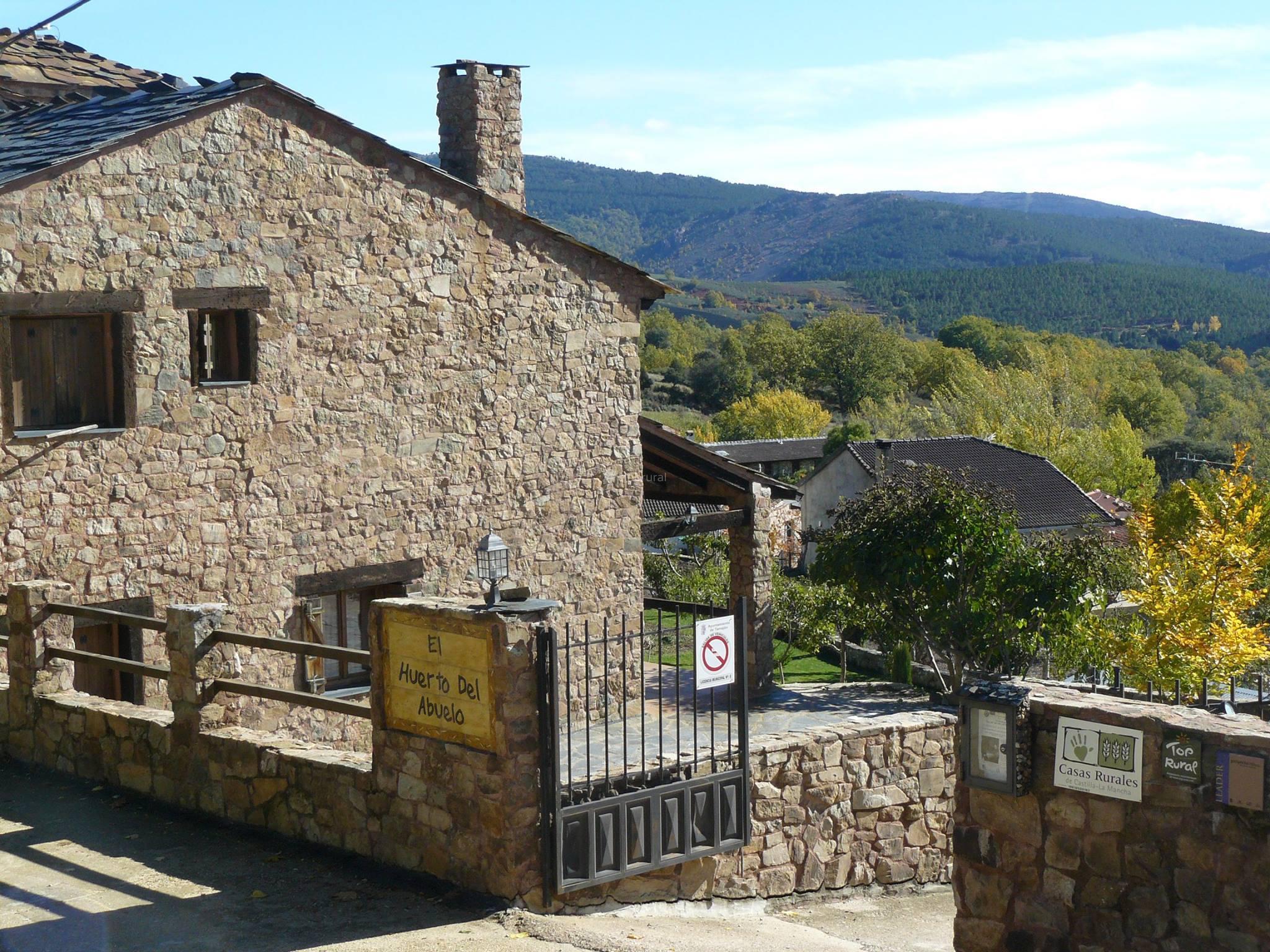 Fotos de casa rural spa el huerto del abuelo guadalajara almiruete clubrural - Casa rural casavieja ...