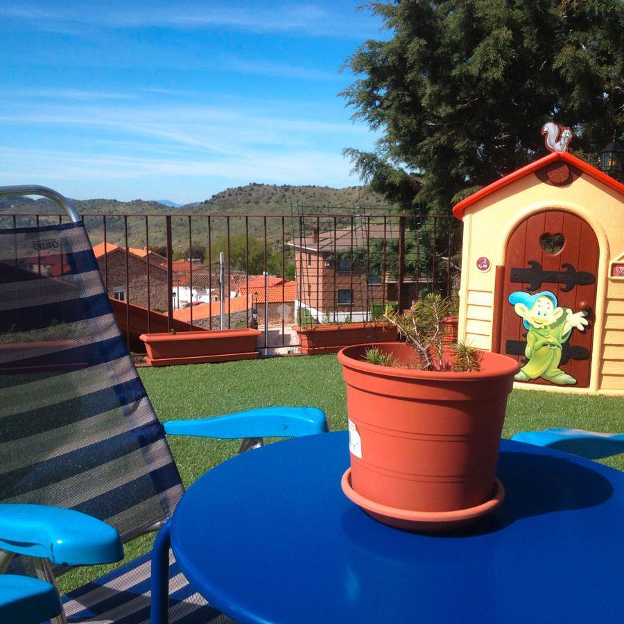 Fotos de casa zarzal madrid zarzalejo clubrural for Piscina agua salada madrid