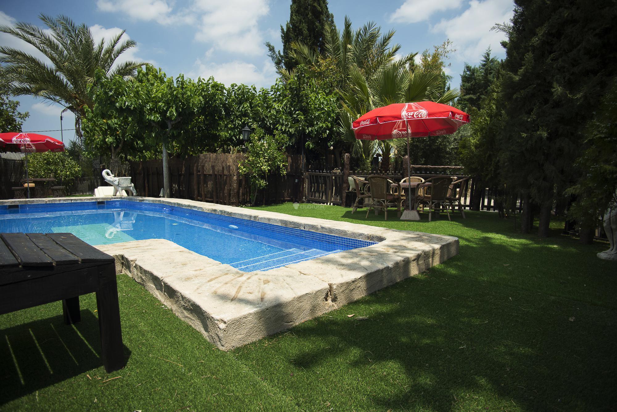 Fotos de casa grande murcia archena clubrural for Casa jardin murcia