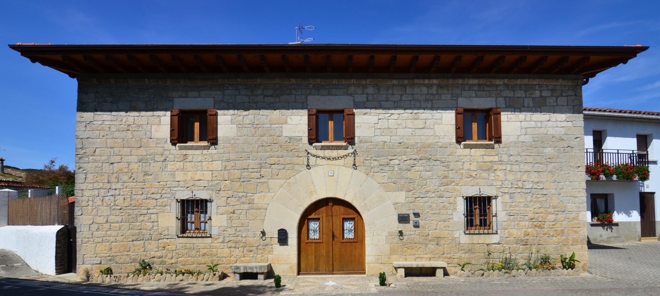 Fotos de casa de la cadena navarra asi in clubrural - Casa rural la zubia ...