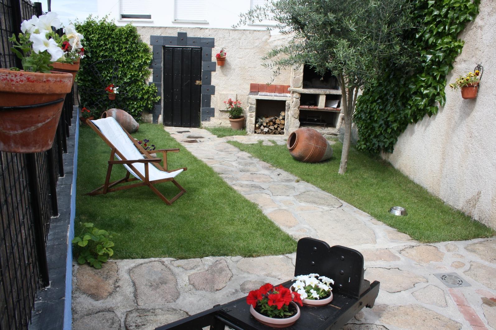 Fotos de la casona del jard n salamanca la fuente de for Casa rural jardin del desierto tabernas