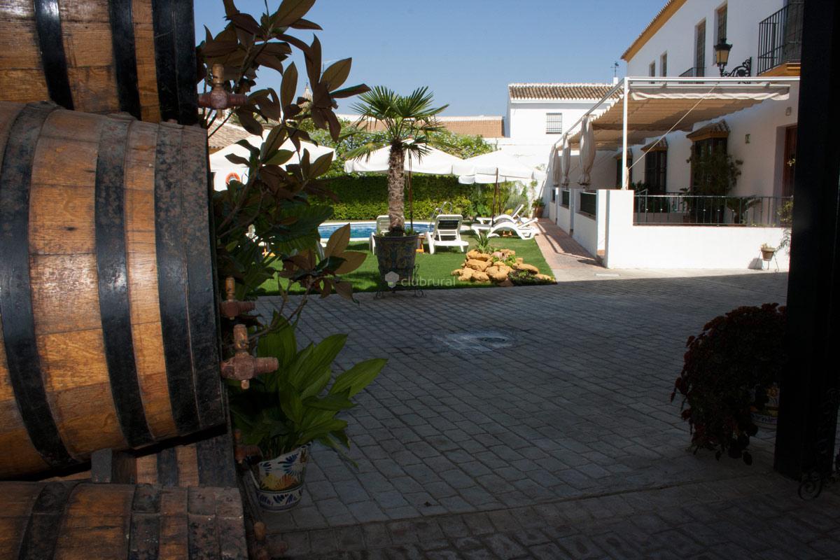 Fotos de hacienda olontigi sevilla aznalcazar clubrural for Oficinas de hacienda en sevilla