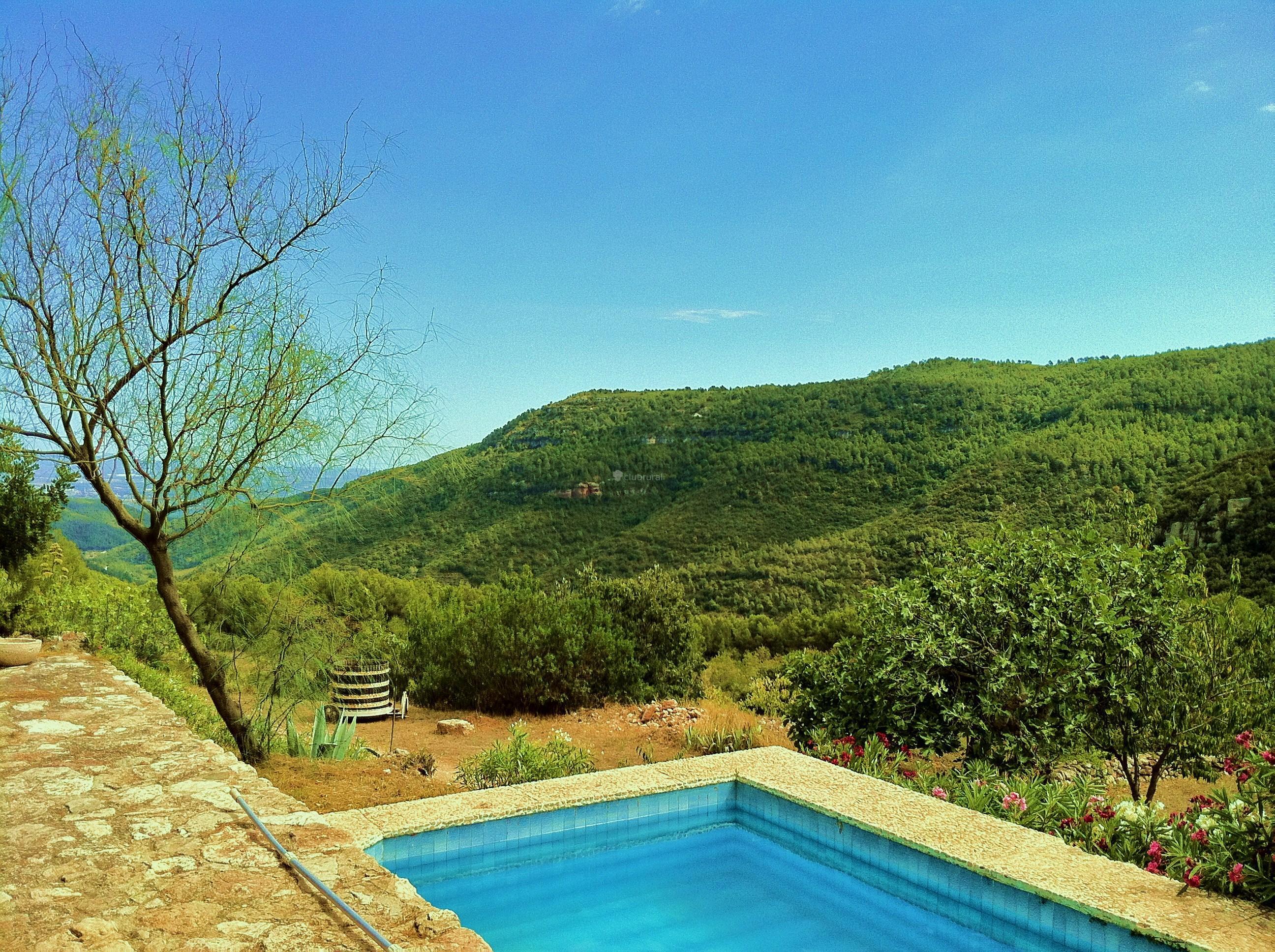 Fotos de mas de vilella tarragona alcover clubrural for Piscina alcover
