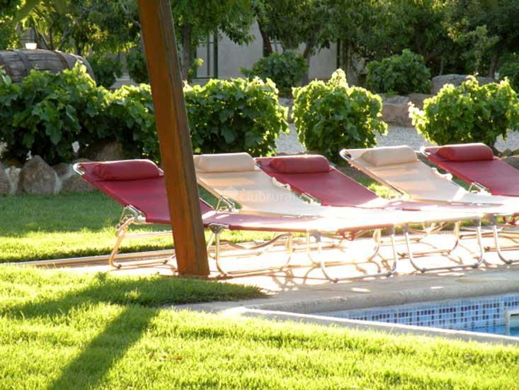 Fotos de casa rural el carrascal toledo galvez clubrural for Piscina el carrascal