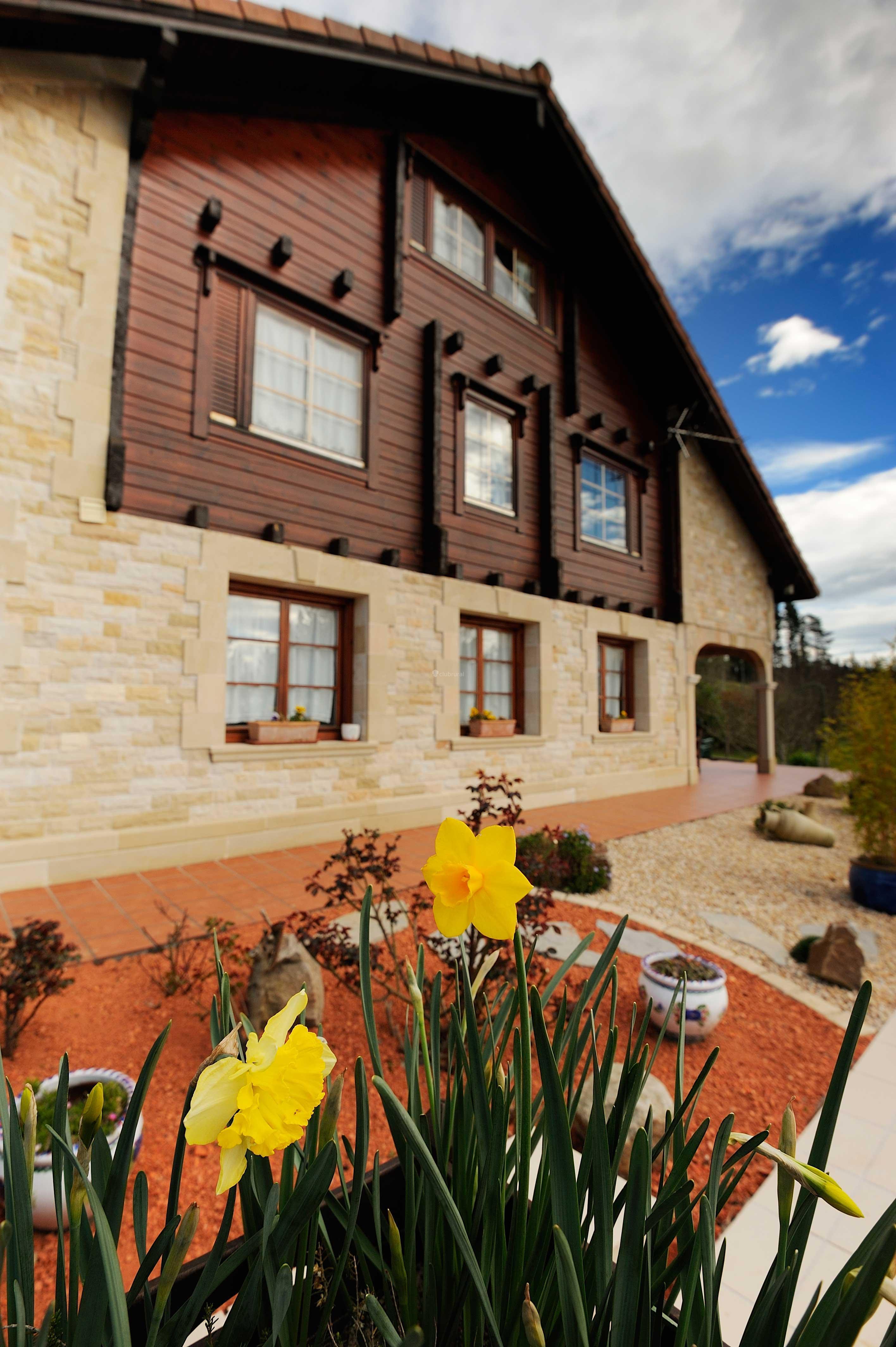 Fotos de la casa de madera vizcaya arrieta clubrural - Opiniones casas de madera ...