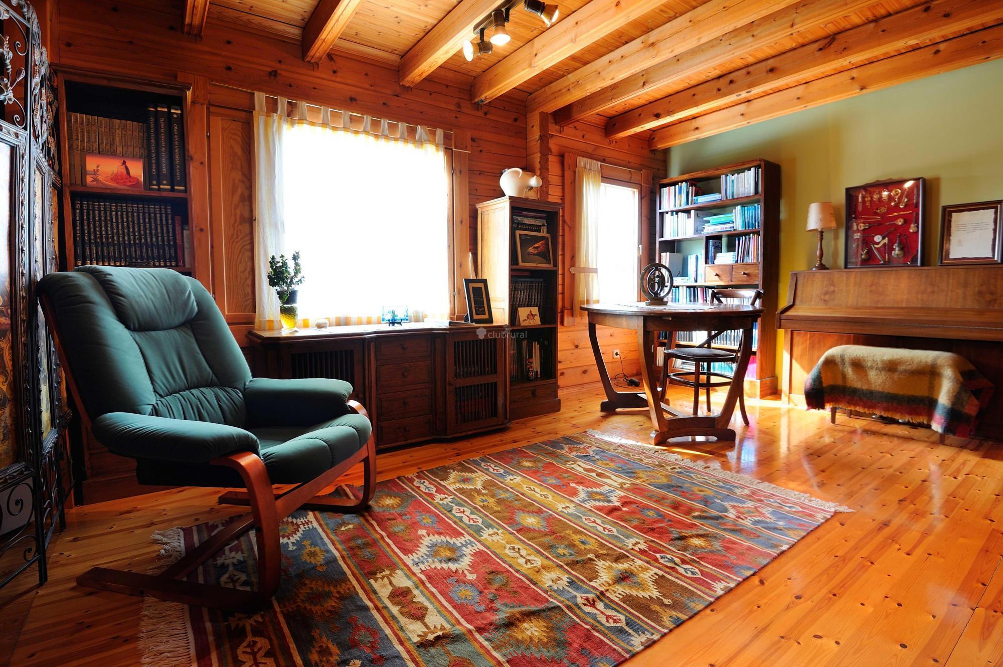 Fotos de la casa de madera vizcaya arrieta clubrural - Casaa de madera ...