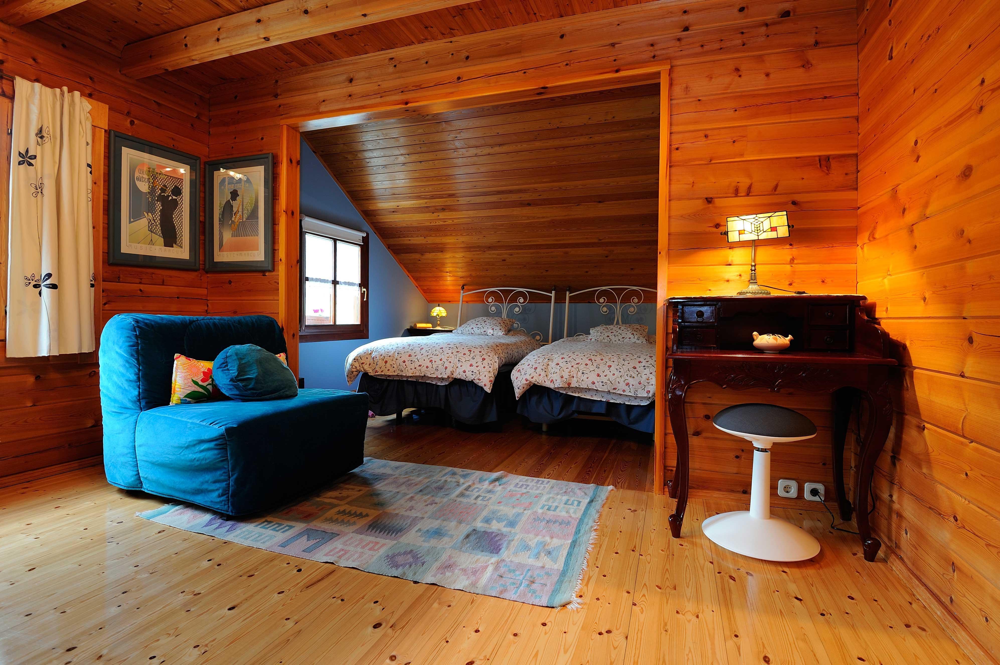 Fotos de la casa de madera vizcaya arrieta clubrural - Fotos de bungalows de madera ...